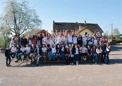 Le 30 avril à la MFR de Fougerolles