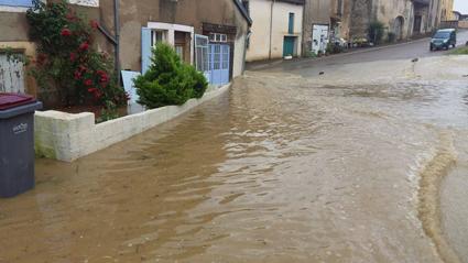 Inondations en cascade !