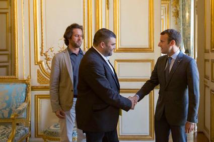 Les JA rencontrent Emmanuel Macron