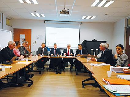 Présentation en avant-première à Dijon du rapport d'étape sur les zones intermédiaires