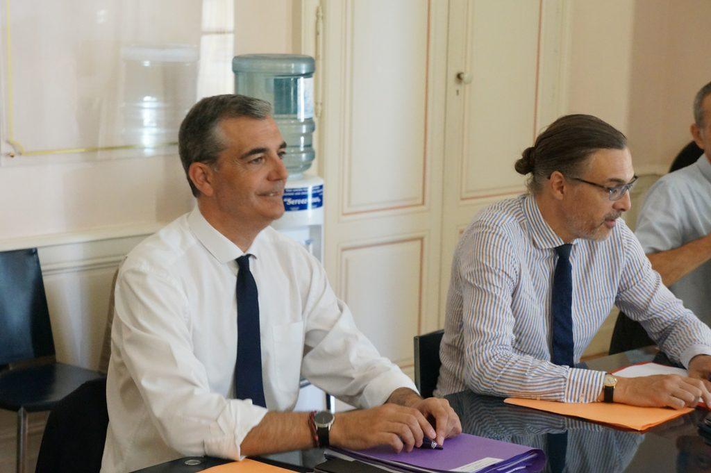 Rencontre avec Laurent Carrié conseiller du Premier Ministre