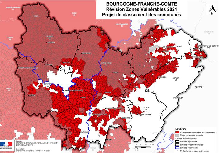 Plus de 950 communes proposées au classement, pour la région Bourgogne Franche-Comté